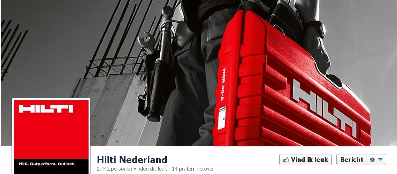 Nederlandse voorbeelden van B2B op Facebook