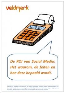 VeldMerk whitepaper Social Media ROI