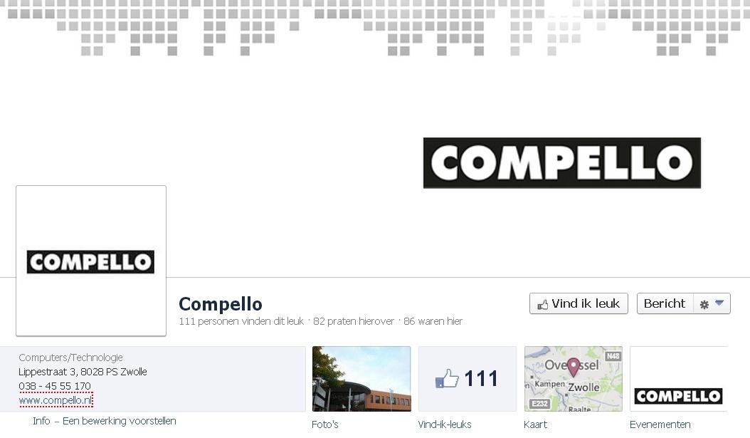 B2B Facebook Pagina: Compello