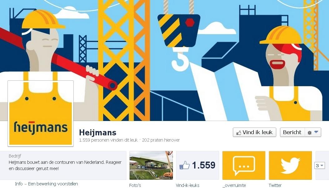B2B Facebook Pagina: Heijmans