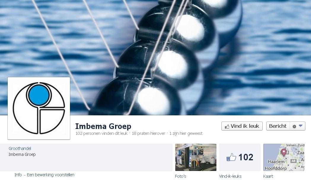B2B Facebook Pagina: Imbema