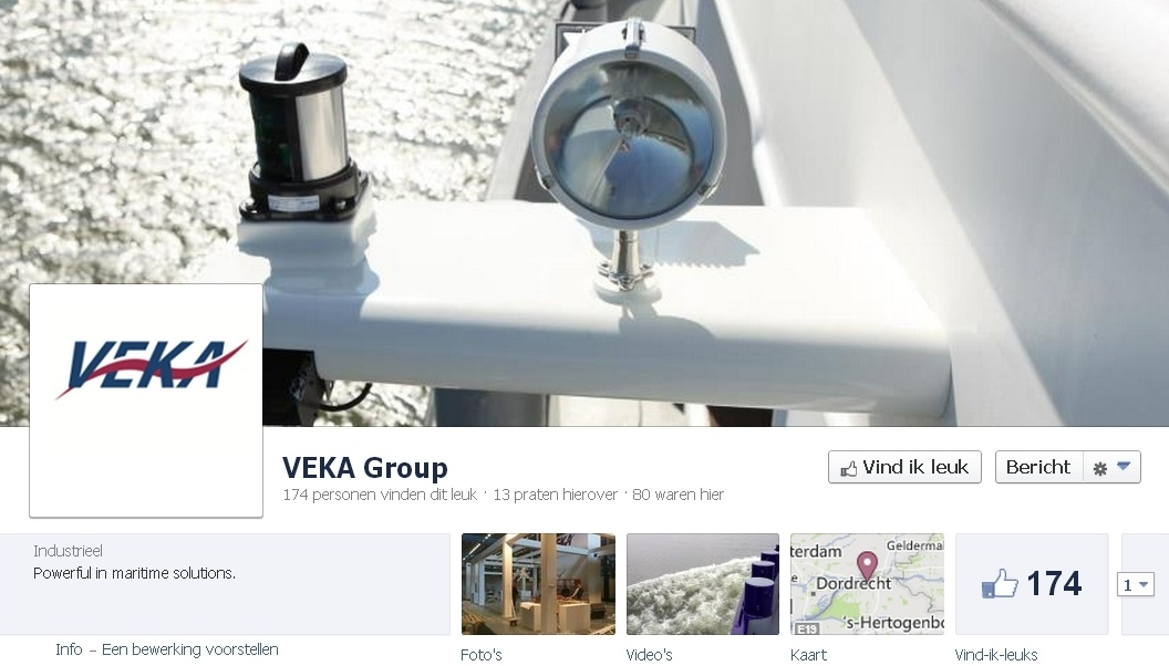 B2B Facebook Pagina: VEKA Groep