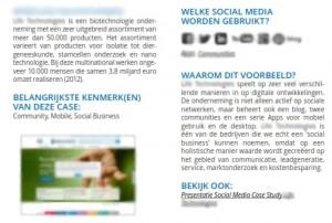 voorbeelden van Social Media in B2B