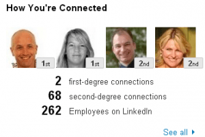 How youre connected LinkedIn