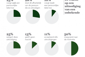 LinkedIn gebruik in Nederland 2013