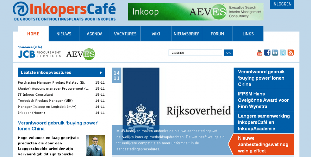 Social Media voor inkopers