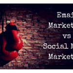 email marketing of social media marketing
