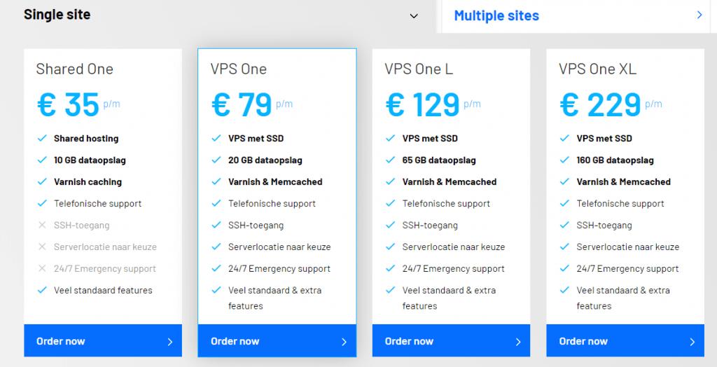 beste wordpress hosting vergelijken
